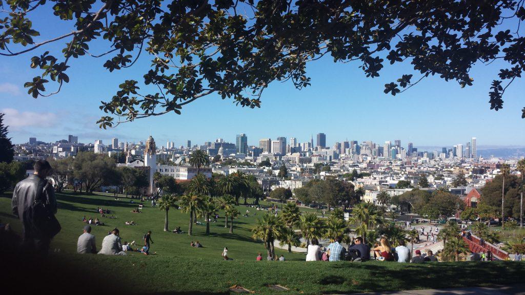 Dolores Park, Mission District, SF