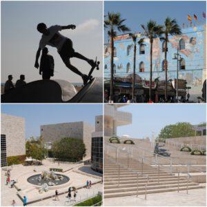 Venice Beach und Getty Museum