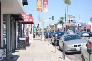 Die Straßen von LA