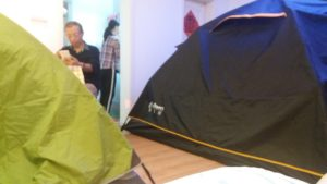 Camping chinese style